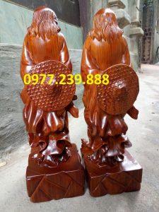 bán đạt ma sư tổ gỗ hương đá