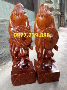 bán đạt ma sư tổ gỗ hương