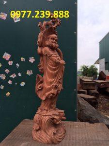 bán tượng đạt ma bằng gỗ hương