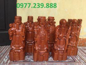 bán tượng Tam đa gỗ hương