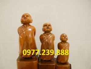 bán tượng tùy duyên gỗ