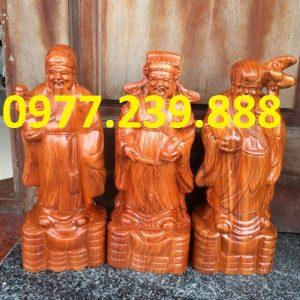 bán tượng tam đa đầu nhỏ gỗ hương 30cm