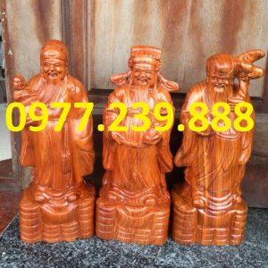bán tượng tam đa đầu nhỏ gỗ hương 60cm