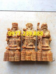 bán tượng tam đa bằng gỗ huyết long