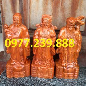 bán tam đa đầu nhỏ bằng gỗ hương lào