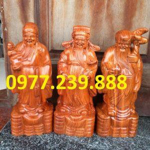 bán tam đa đầu nhỏ gỗ hương đá
