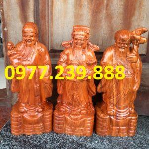bán tam đa đầu nhỏ gỗ hương 20cm