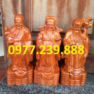 bán tam đa đầu nhỏ gỗ hương 30cm
