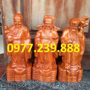 bán tam đa đầu nhỏ gỗ hương 40cm