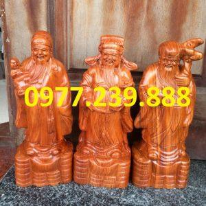 bán tam đa đầu nhỏ gỗ hương 60cm