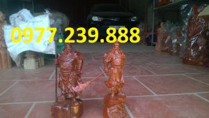 ban tuong quan cong go huong 40cm