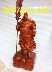 tượng quan công hương đá