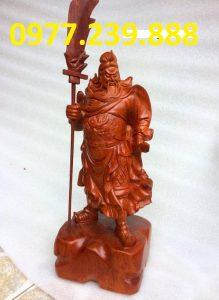 tượng quan công hương đỏ