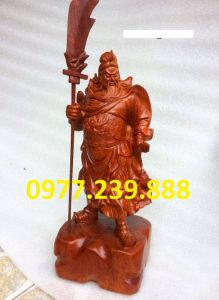 tượng quan công hương 30cm