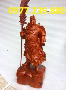 tượng quan công hương 50cm