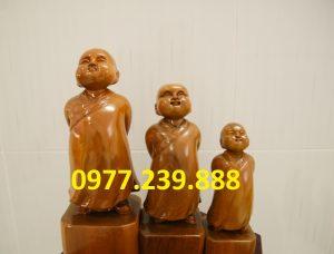 tượng tùy duyên gỗ
