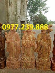 tượng tam đa đầu nhỏ bằng gỗ huyết long giá rẻ