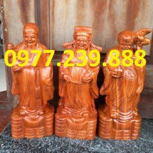 tượng tam đa đầu nhỏ gỗ hương đá