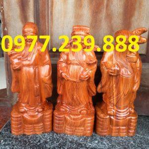 tượng tam đa đầu nhỏ gỗ hương lào