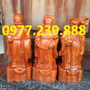 tượng tam đa đầu nhỏ gỗ hương ta