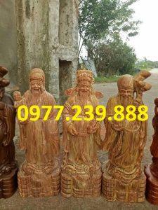 tượng tam đa đầu nhỏ gỗ huyết long 25cm