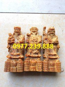 tượng tam đa bằng gỗ huyết long