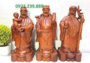 tượng tam đa gỗ