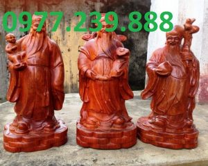 tượng tam đa gỗ trắc