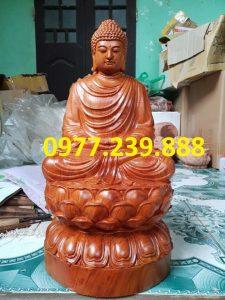 tượng tam thánh ngồi gỗ hương giá gốc