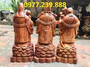 tượng thần tài bằng gỗ hương