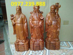 tượng thần tài gỗ