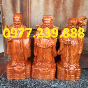 tam đa đầu nhỏ gỗ hương 30cm