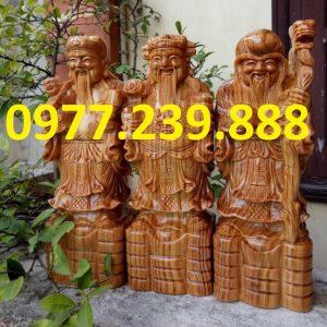 tam đa đầu to bằng gỗ bách xanh 20cm