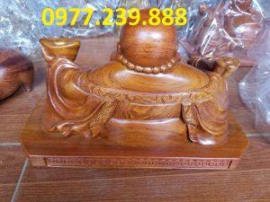 tuong di lac xoai bang go huong 20cm