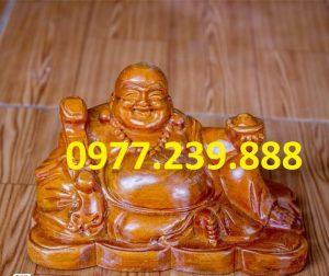 tuong phat di lac bang go huong 15cm