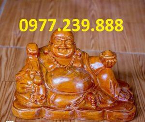 tuong phat di lac bang go huong 20cm