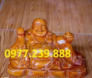 tuong phat di lac bang go huong