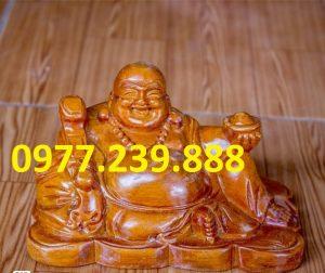 tuong phat di lac bang go huong 30cm