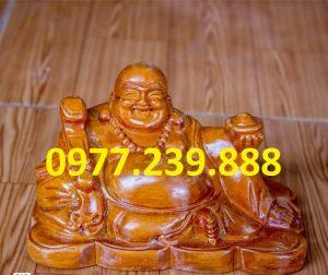 tuong phat di lac bang go huong 40cm