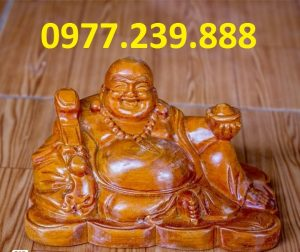 tuong phat di lac bang go huong 50cm