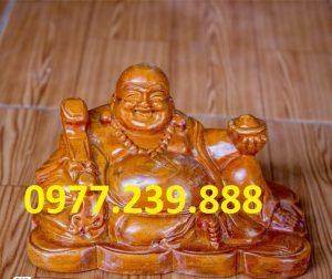 tuong phat di lac go huong 20cm