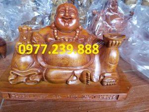 tuong phat di lac xoai bang go huong 20cm