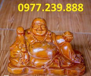 tuong phat di lac xoai bang go huong