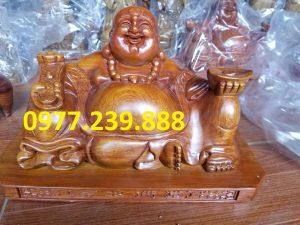 tuong phat di lac xoai go huong 15cm