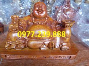 tuong phat di lac xoai go huong 20cm