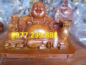 tuong phat di lac xoai go huong