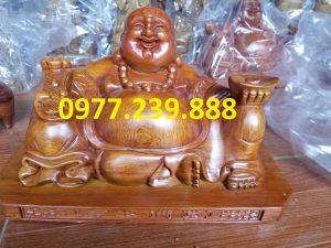 tuong phat di lac xoai go huong 30cm
