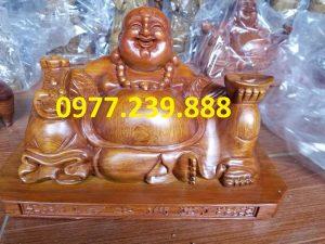 tuong phat di lac xoai go huong 40cm