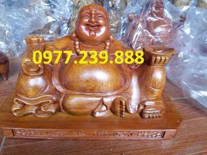 tuong phat di lac xoai go huong 50cm