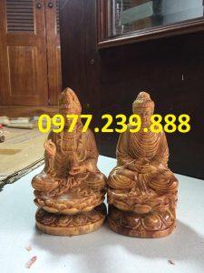 bán tượng phật thích ca bằng gỗ huyết long 50cm